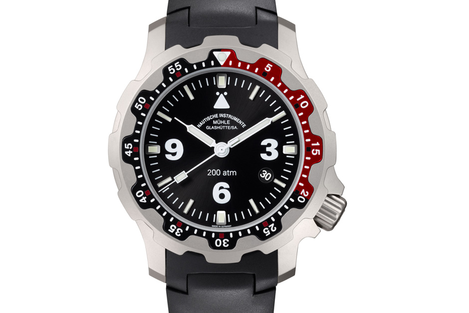 Muhle glashutte rasmus 2000 diving watch watch marvel for Muhle watches