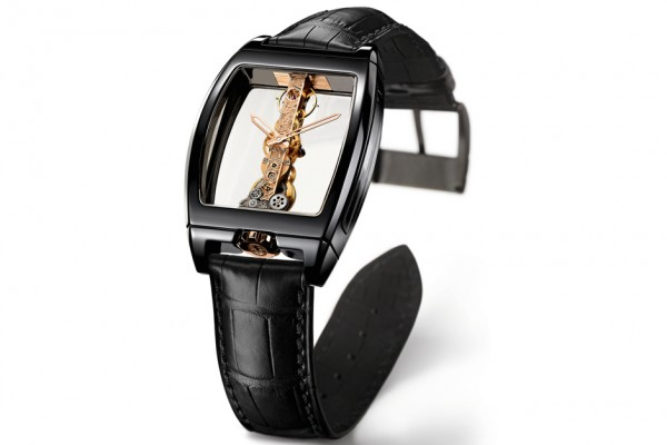 Corum Golden Bridge Black Ceramic