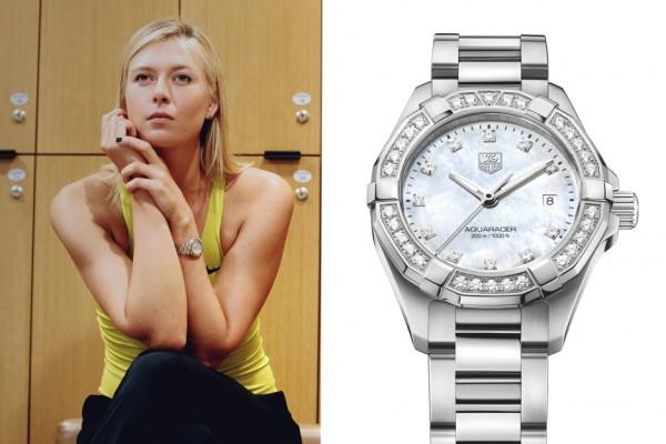 Maria Sharapova TAG Heuer Aquaracer