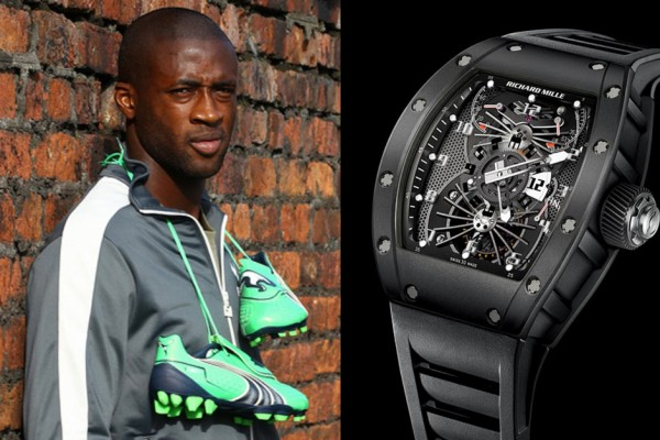 Yaya Toure Richard Mille
