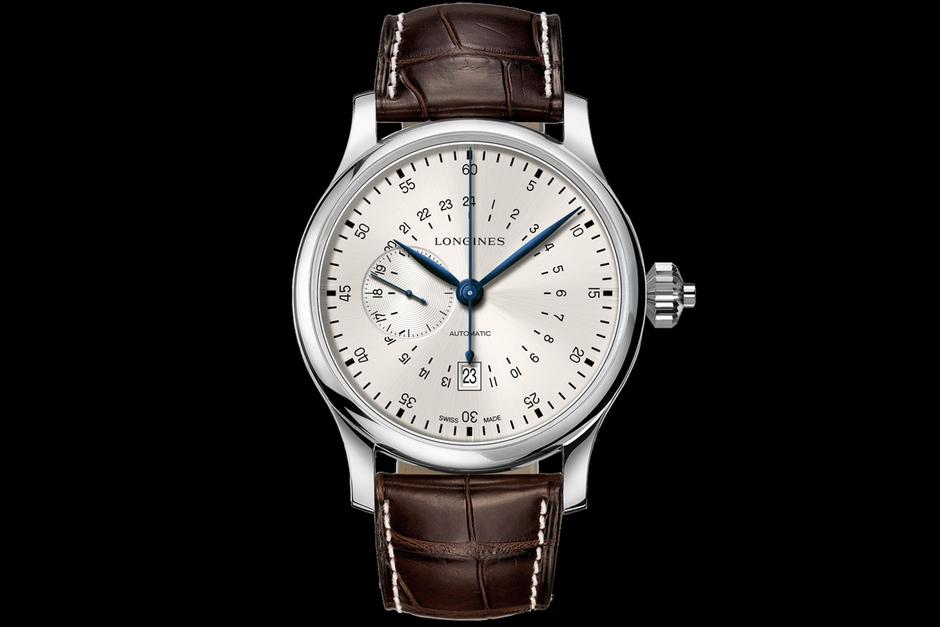 The Longines 24 Hours Single Pushpiece Chronograph