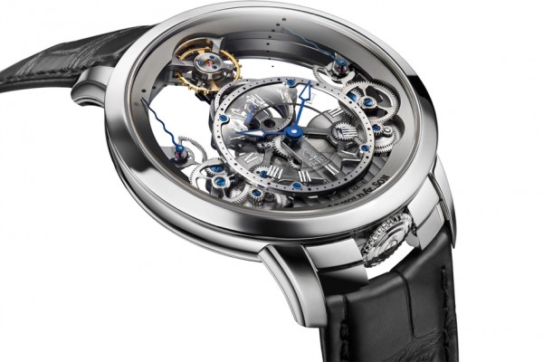 Arnold & Son Time Pyramid in Stainless Steel 8
