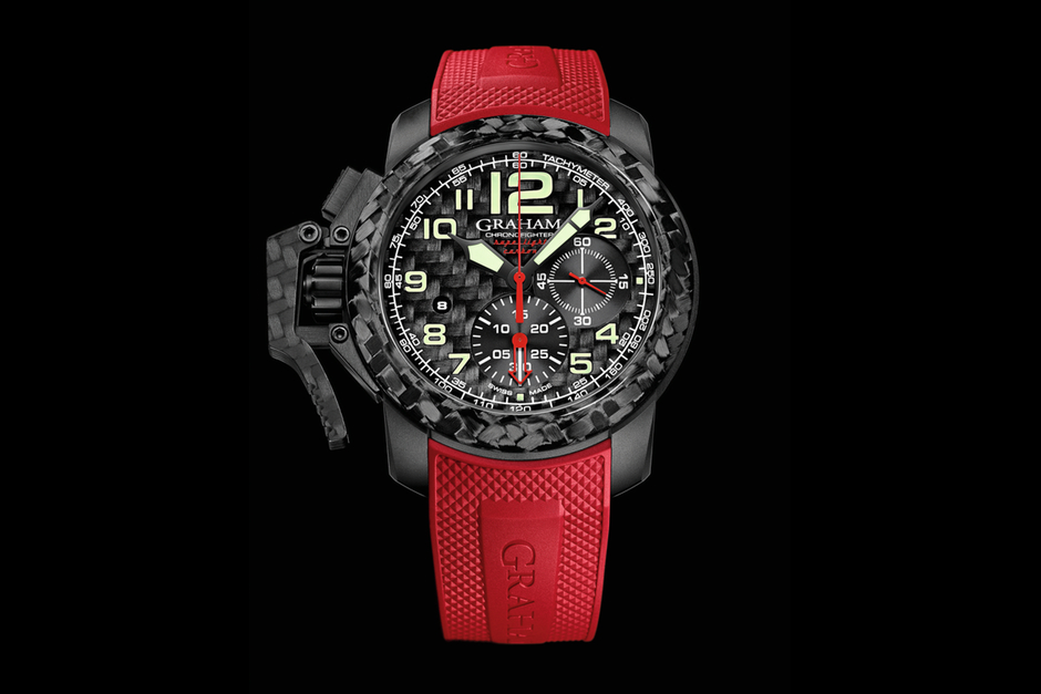 Graham Chronofighter Oversized Superlight Carbon 2