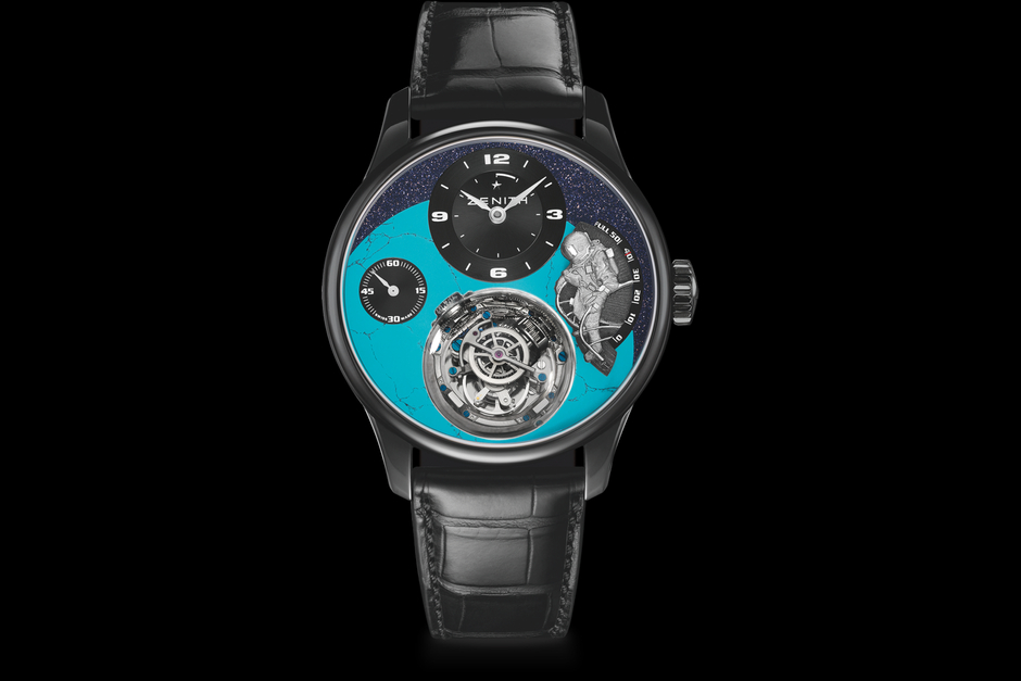 Zenith Christophe Colomb Tribute to Felix Baumgartner