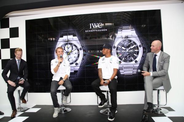 IWC Ingenieur Chronograph Lewis Hamilton and Nico Rosberg