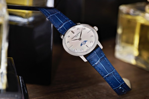 Frederique Constant Slimline Moonphase Ladies' Collection