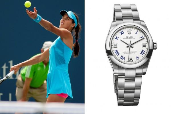 Ana Ivanovich Rolex Oyster Perpetual