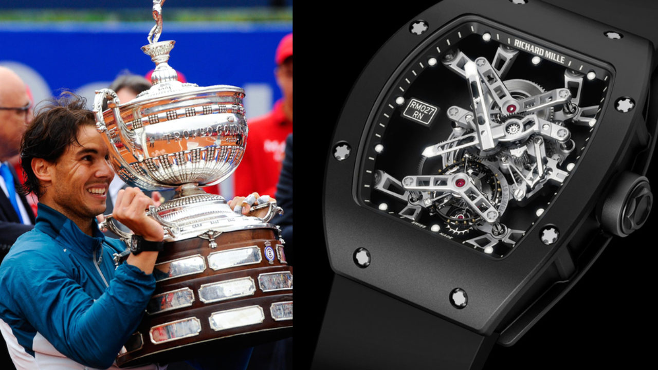 The Richard Mille Rm 027 Rafael Nadal Watch Marvel