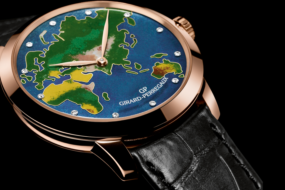 Girard Perregaux 1966 Enamel Collection