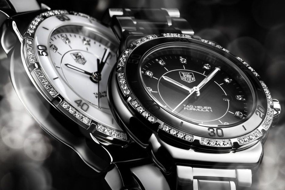 TAG Heuer Formula 1 Lady in Stainless Steel and Ceramic