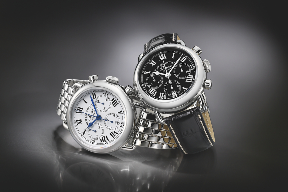 West End Watch Queen Anne Chronograph