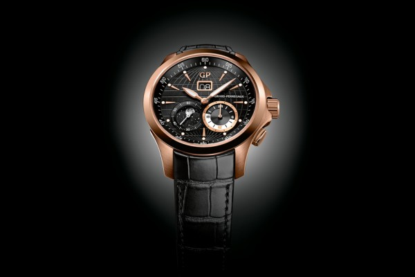 Girard Perregaux Traveller Large Date, Moon Phase, and GMT